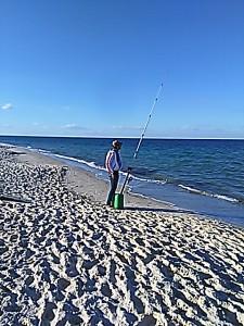IMG_20150405_181334 Lone fisher on beach